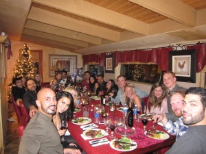 Vacationers enjoying private chef service in Breckenridge, Co